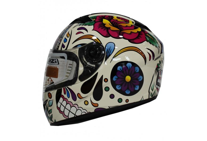 Mexican Skull Helmet